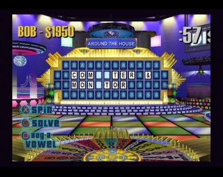 Pantallazo de Wheel of Fortune para PlayStation 2