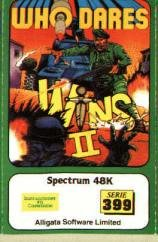 Caratula de Who Dares Wins 2 para Spectrum