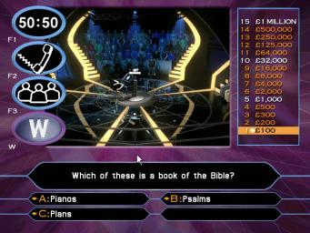 Pantallazo de Who Wants to be a Millionaire? 2nd Edition para PC