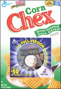 Caratula de Who Wants to be a Millionaire CD-ROM 1st Edition: General Mills Cereal Promotion para PC