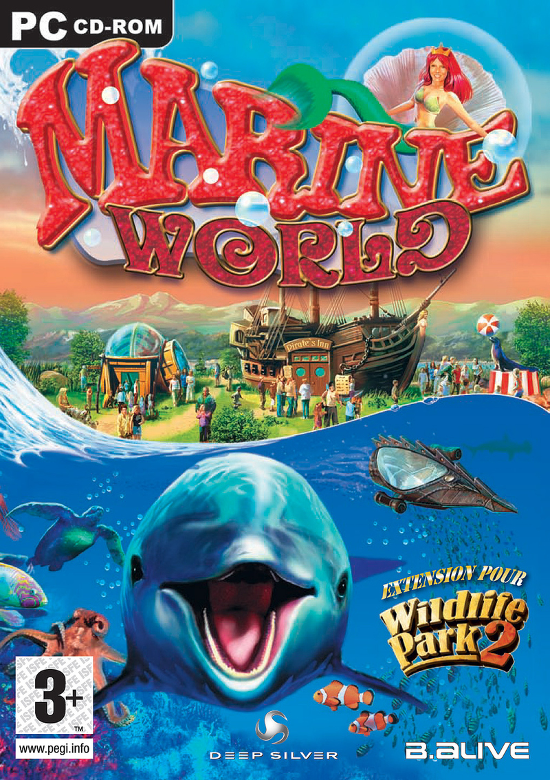 Caratula de Wildlife Park 2: Marine World para PC