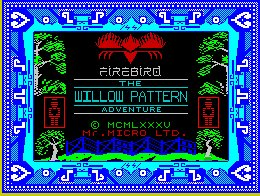 Pantallazo de Willow Pattern Adventure, The para Spectrum