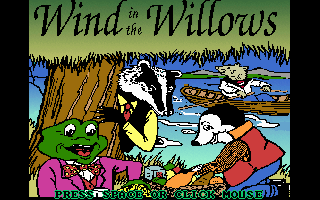 Pantallazo de Wind in The Willows para PC