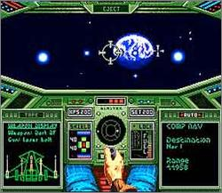 Pantallazo de Wing Commander: The Secret Missions para Super Nintendo