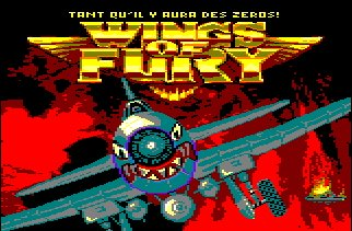 Pantallazo de Wings Of Fury para Amstrad CPC