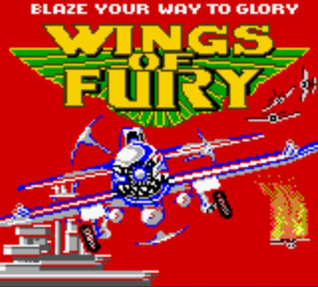 Pantallazo de Wings of Fury para Game Boy Color