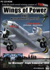 Caratula de Wings of Power: WWII Heavy Bombers and Jets para PC