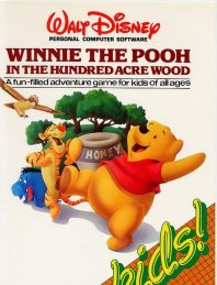 Caratula de Winnie the Pooh in the Hundred Acre Wood para Atari ST