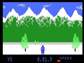Pantallazo de Winter Events para MSX