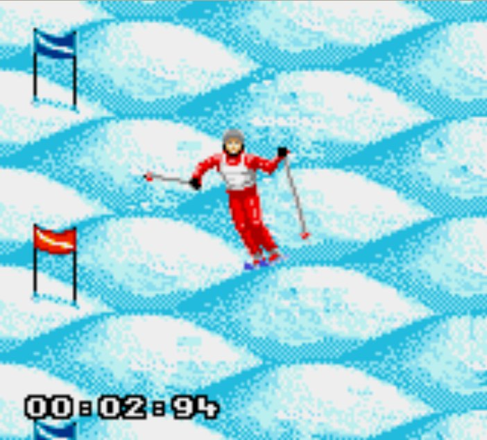 Pantallazo de Winter Olympic Games para Gamegear