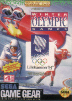 Caratula de Winter Olympic Games para Gamegear