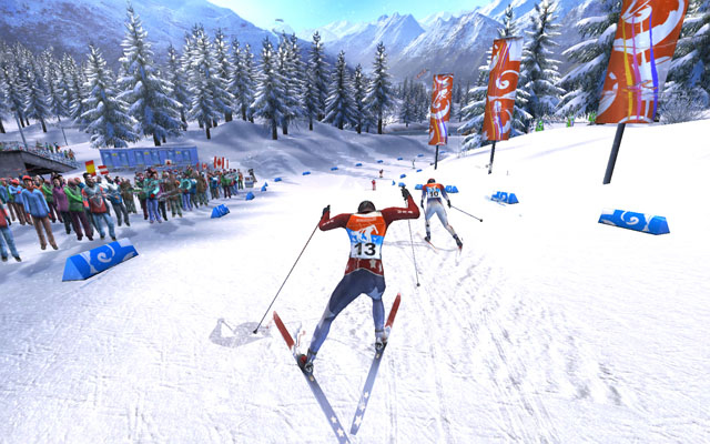 Pantallazo de Winter Sports 2008: The Ultimate Challenge para Wii