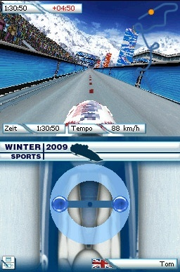 Pantallazo de Winter Sports 2009: The Next Challenge para Nintendo DS