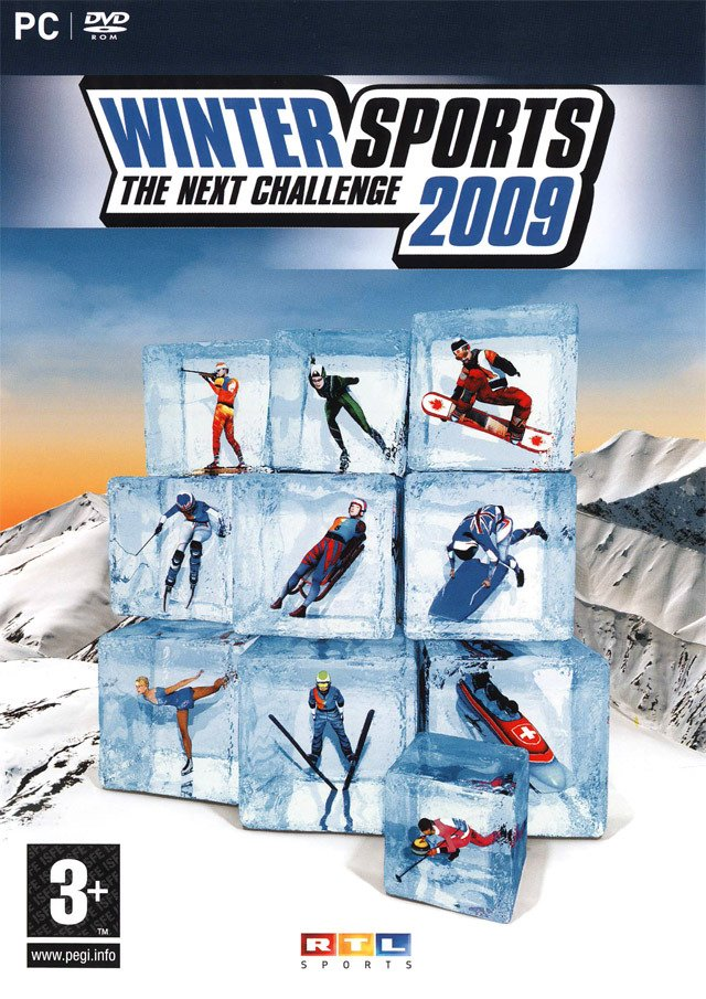Caratula de Winter Sports 2009: The Next Challenge para PC