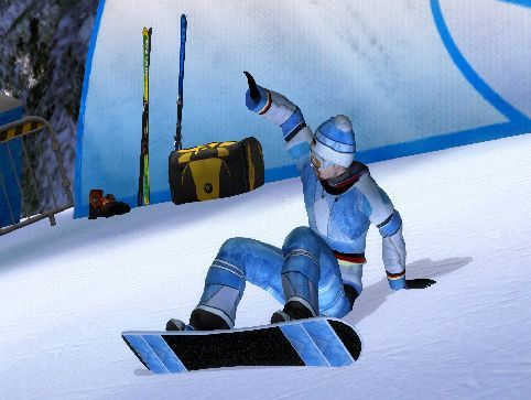 Pantallazo de Winter Sports 2009: The Next Challenge para PC