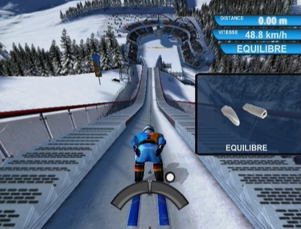 Pantallazo de Winter Sports 2009: The Next Challenge para Wii
