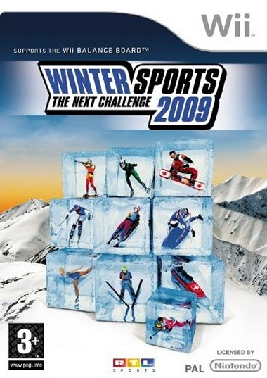 Caratula de Winter Sports 2009: The Next Challenge para Wii