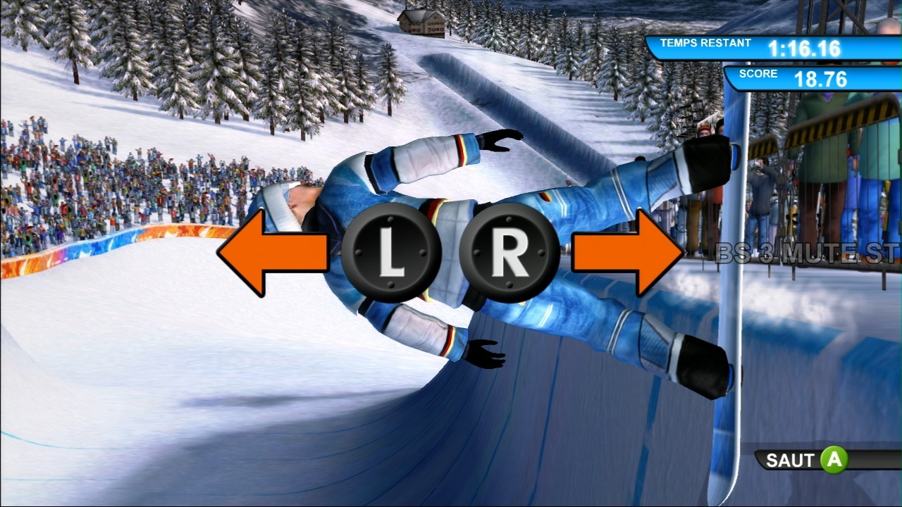 Pantallazo de Winter Sports 2009: The Next Challenge para Xbox 360