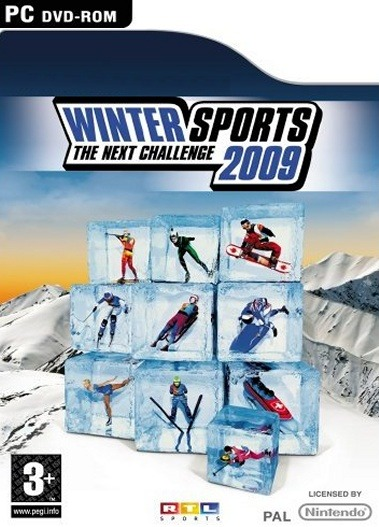 Caratula de Winter Sports 2009 para PC