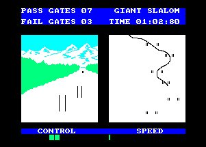 Pantallazo de Winter Sports para Amstrad CPC