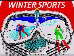 Pantallazo de Winter Sports para Spectrum