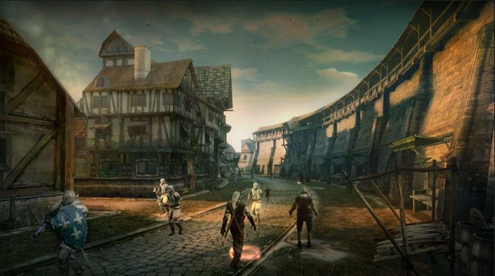Pantallazo de Witcher, The: Rise of the White Wolf para PlayStation 3