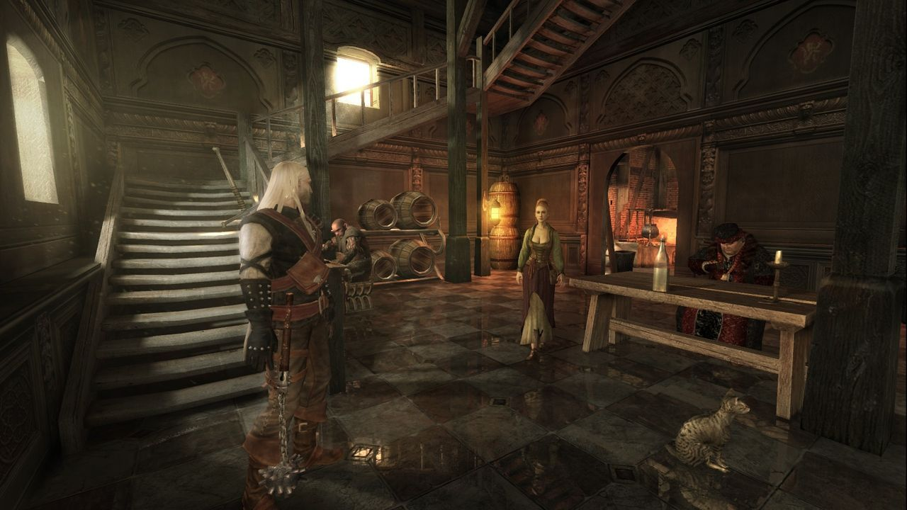 Pantallazo de Witcher, The: Rise of the White Wolf para Xbox 360