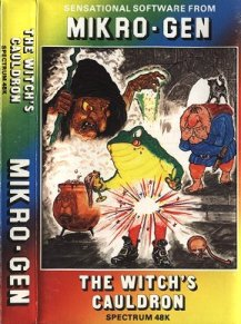 Caratula de Witch's Cauldron para Spectrum