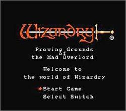 Pantallazo de Wizardry: Proving Grounds of the Mad Overlord para Nintendo (NES)