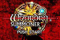 Pantallazo de Wizardry Summoner (Japonés) para Game Boy Advance