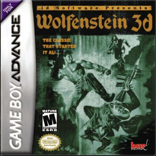 Caratula de Wolfenstein 3D para Game Boy Advance