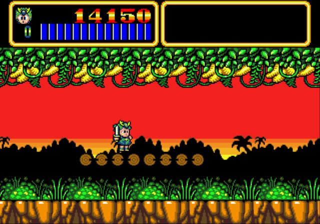 Pantallazo de Wonder Boy III: Monster Lair (Consola Virtual) para Wii