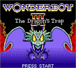 Pantallazo de Wonder Boy III: The Dragon's Trap (Europa) para Gamegear