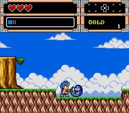 Pantallazo de Wonder Boy V: Monster World III (Japonés) para Sega Megadrive