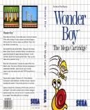 Carátula de Wonder Boy
