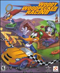 Caratula de Woody Woodpecker Racing para PC