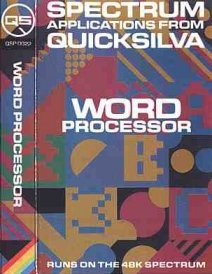 Caratula de Word Processor para Spectrum