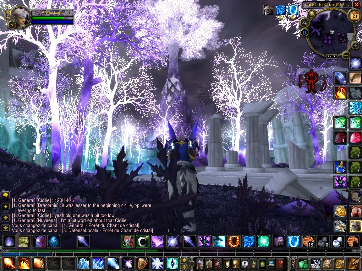 World of Warcraft Wrath of the Lich King (Pantallazo de PC) a tamaño.
