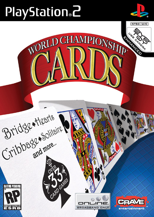 Caratula de World Championship Cards para PlayStation 2