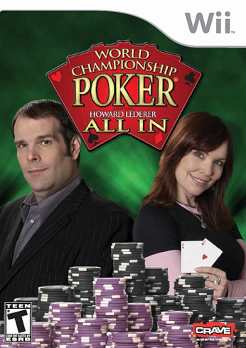 Caratula de World Championship Poker: Featuring Howard Lederer - All In para Wii
