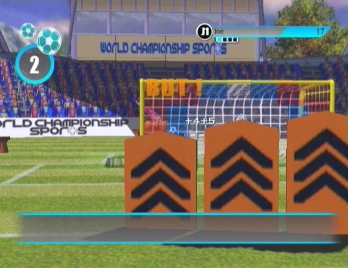 Pantallazo de World Championship Sports para Wii