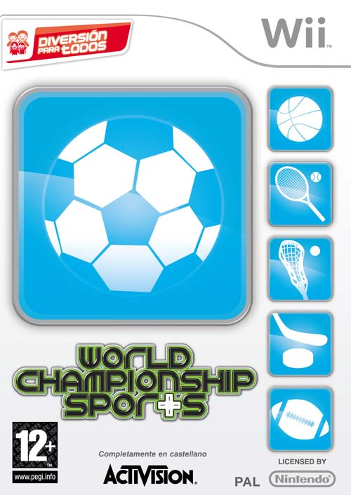 Caratula de World Championship Sports para Wii