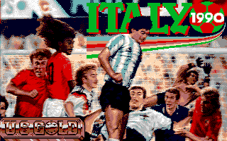 Pantallazo de World Class Soccer (a.k.a. Italy 1990) para PC