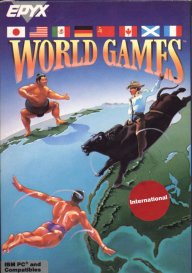 Caratula de World Games para PC