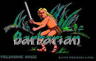 Pantallazo de World Of Barbarian para Amstrad CPC