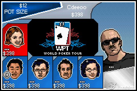 Pantallazo de World Poker Tour 2K6 para Game Boy Advance