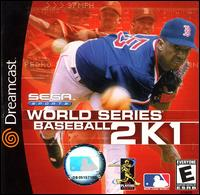 Caratula de World Series Baseball 2K1 para Dreamcast