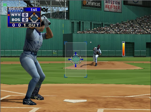 Pantallazo de World Series Baseball 2K1 para Dreamcast