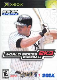 Caratula de World Series Baseball 2K3 para Xbox
