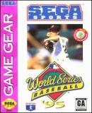 Carátula de World Series Baseball '95